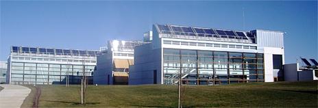 Exterior del CENER (Centro Nacional de Energías Renovables)
